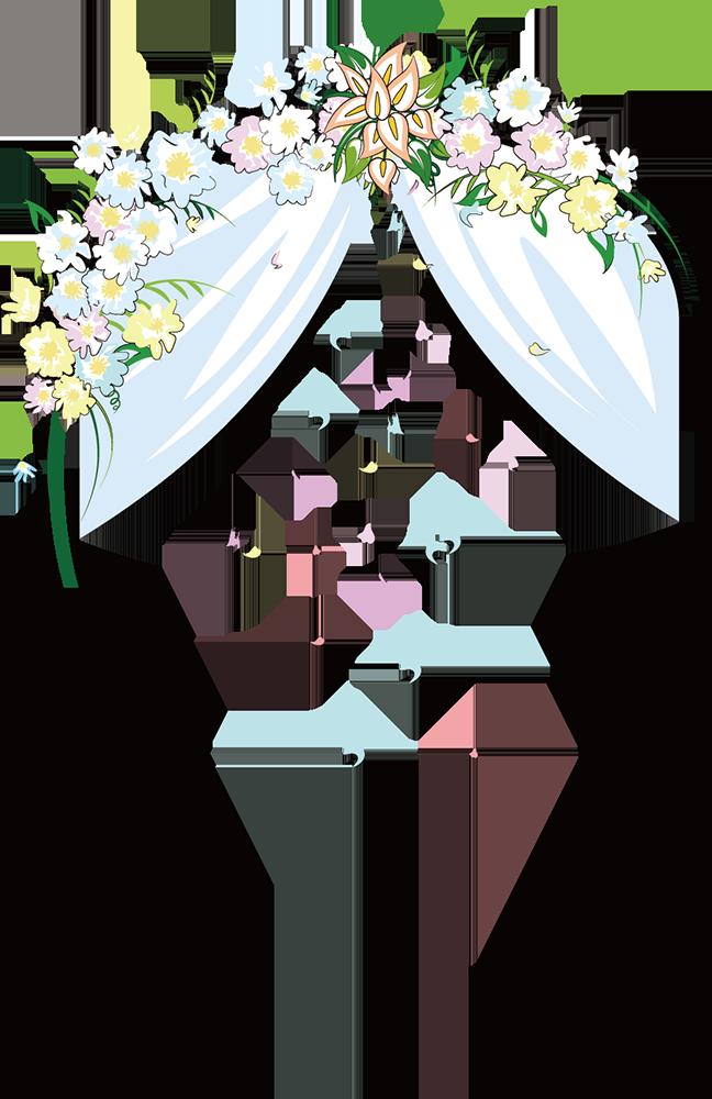 Arch clip art cartoon. Clipart wedding archway
