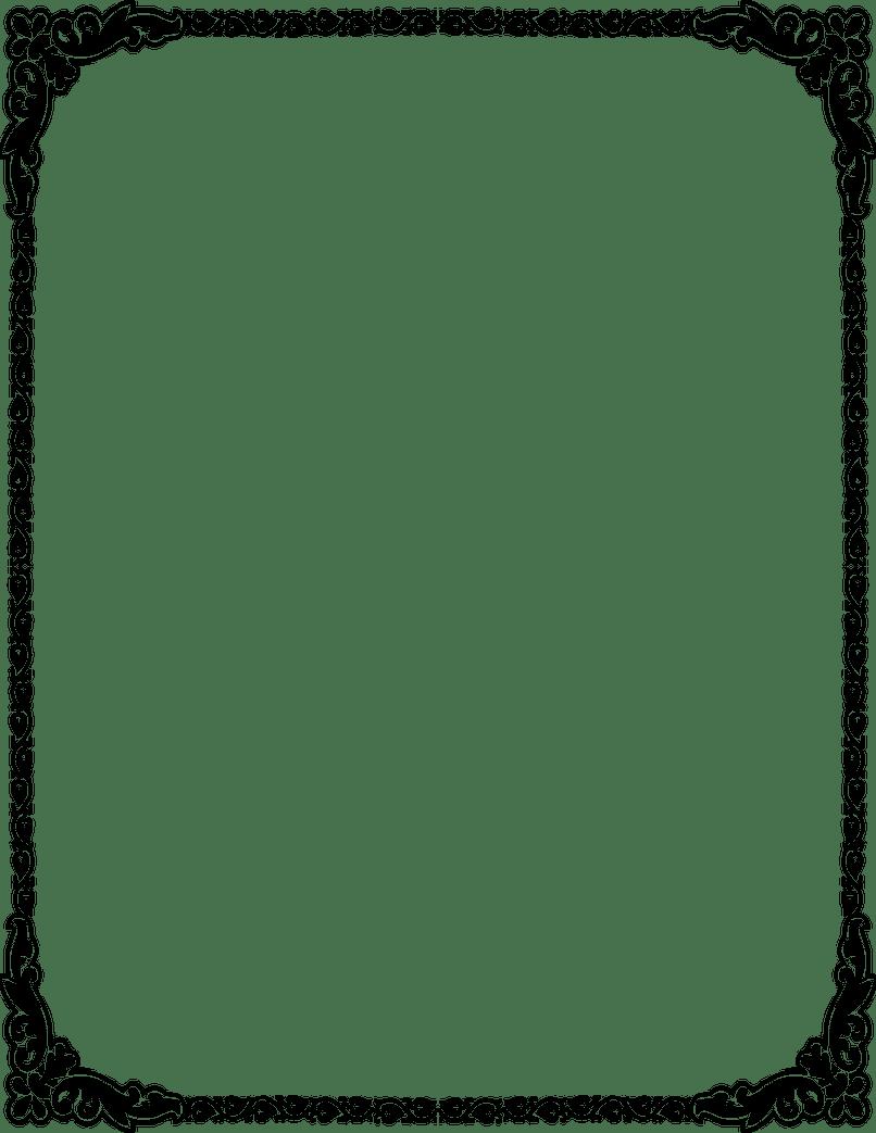Clipart wedding border. Borders for invitations inviview
