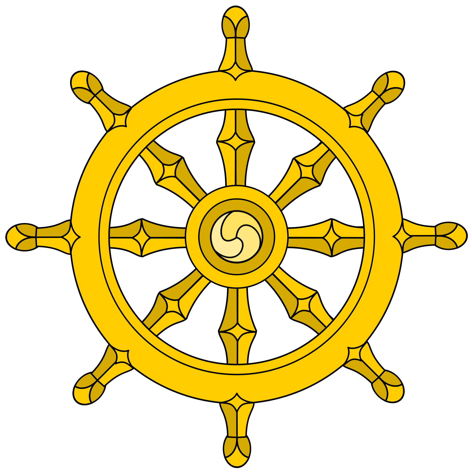 Dharmacakra dharmachakra buddhism pinterest. Clipart wedding buddha