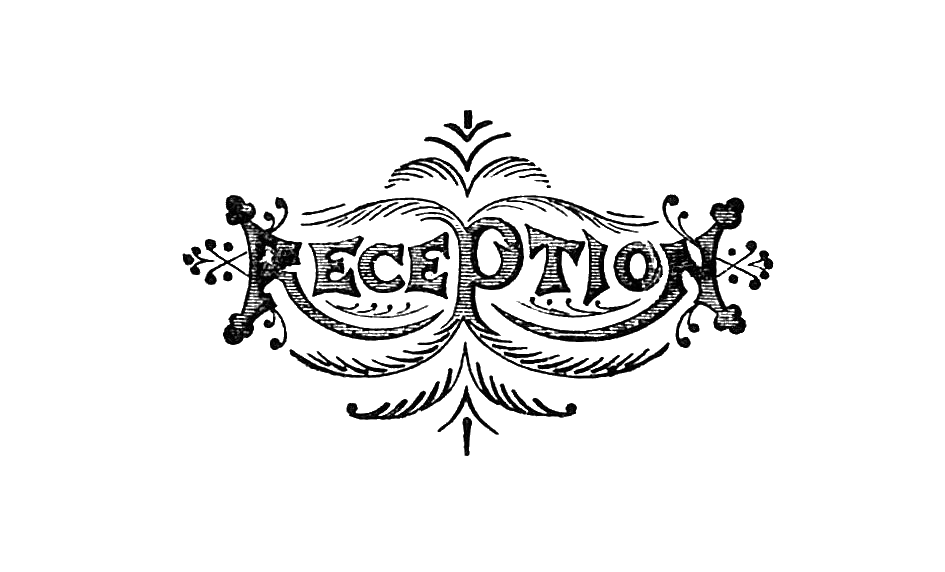 logo clipart reception