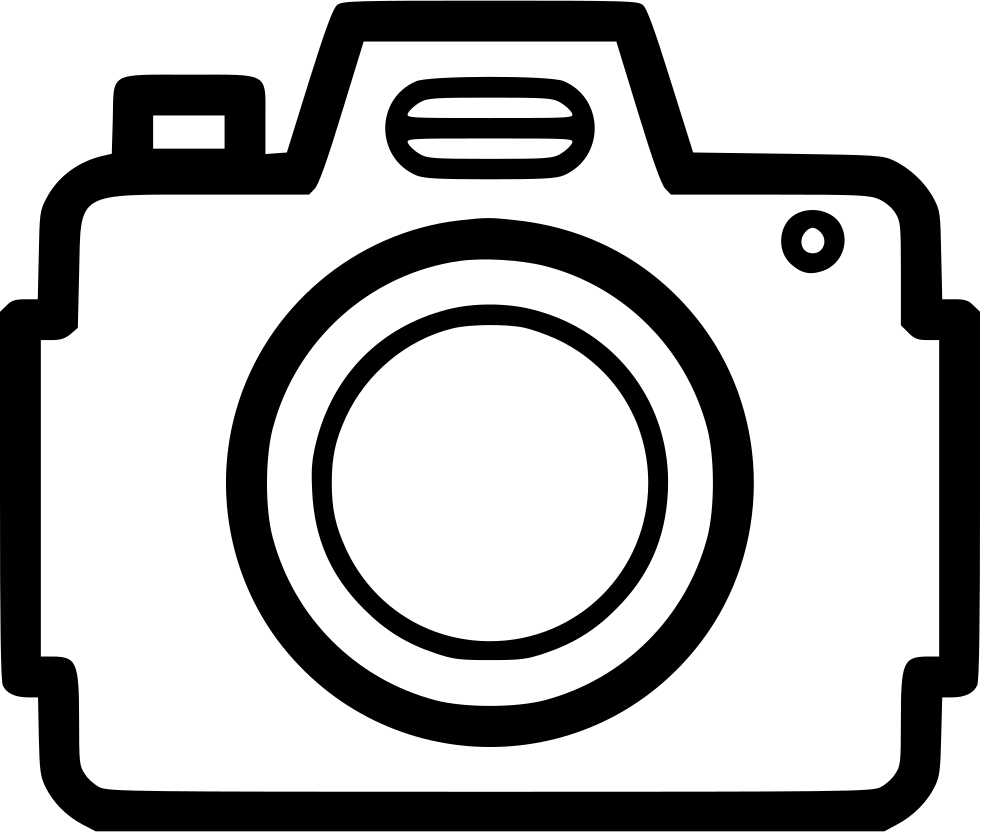 Dslr svg png icon. Clipart wedding camera