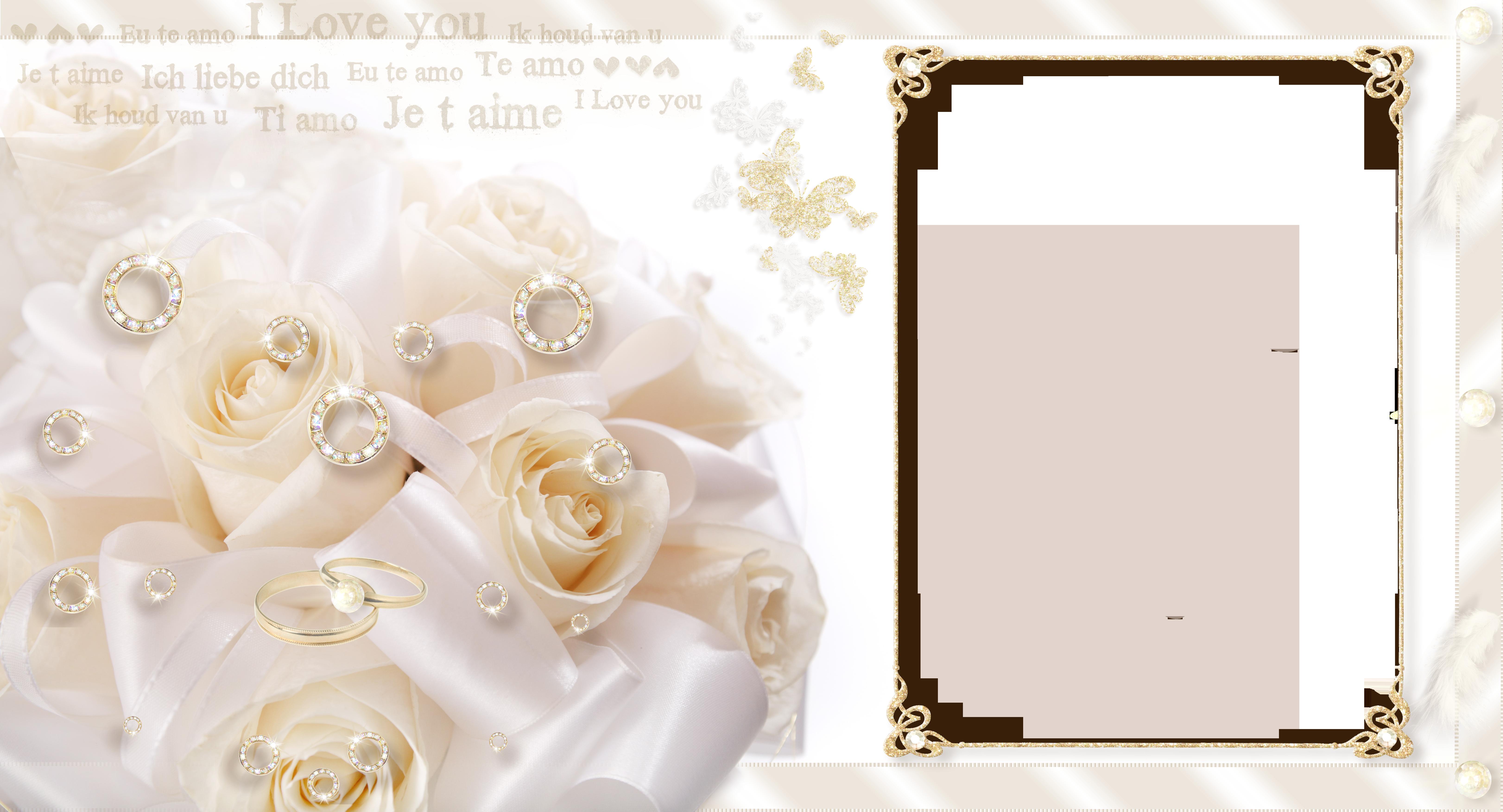 Winter clipart backdrop. Large transparent wedding frame