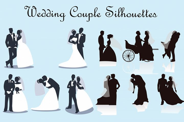 Couples elements . Clipart wedding element