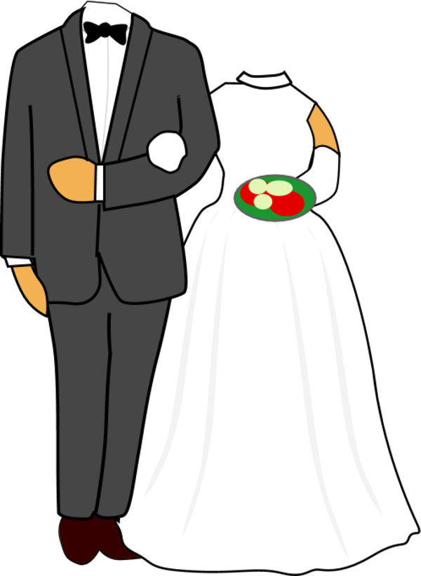 collection of bride. Clipart wedding groom