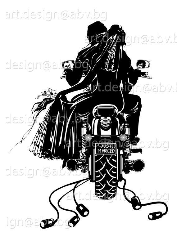 Motorcycle clipart wedding. Portal