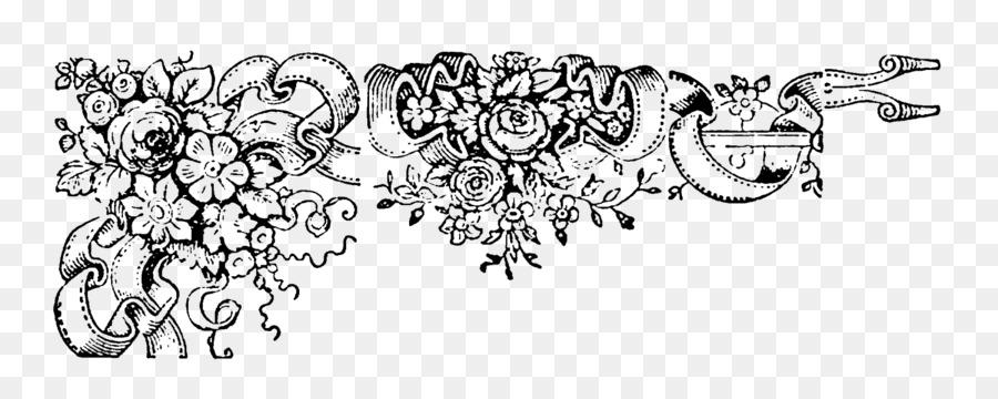 Clipart wedding pattern. Floral invitation background