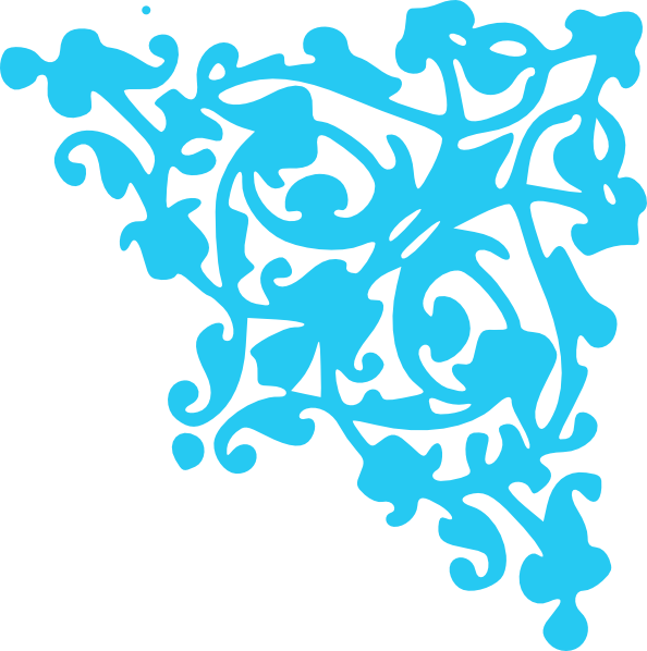 Turquoise clip art at. Clipart wedding pattern