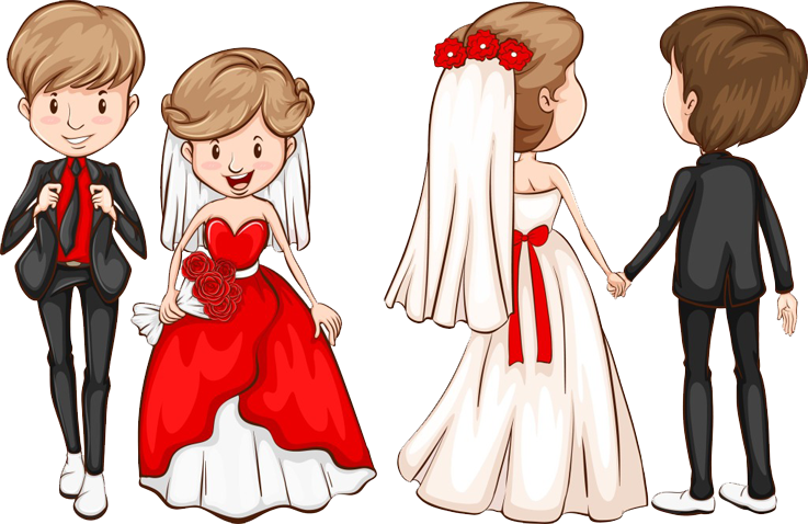 Wedding invitation marriage clip. Human clipart grooming