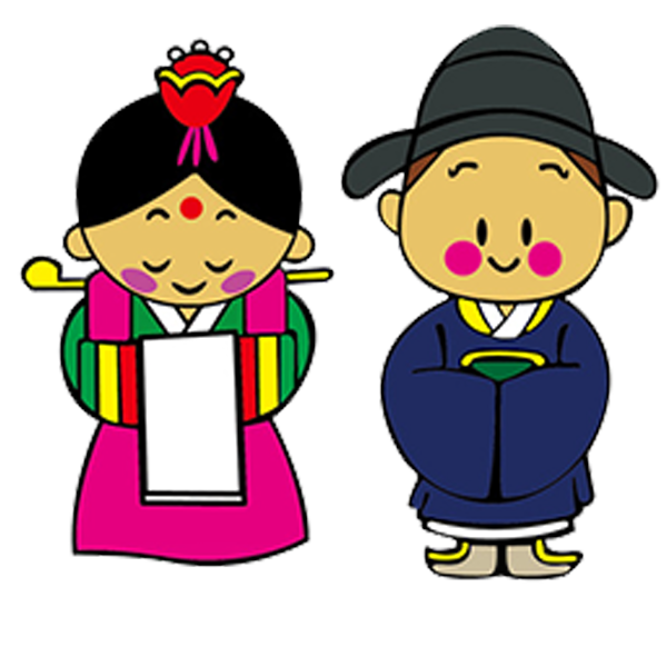 Korea cartoon clip art. India clipart south