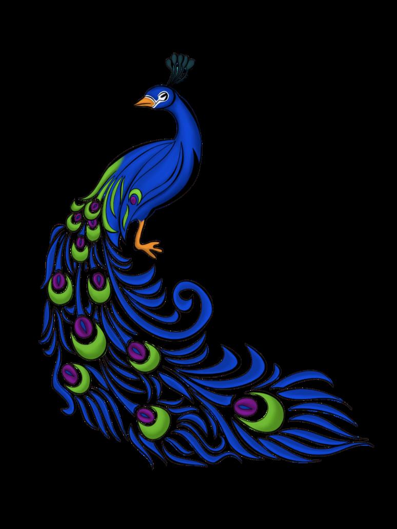 Clipart wedding peacock. Motif by irishpiratequeen pinterest