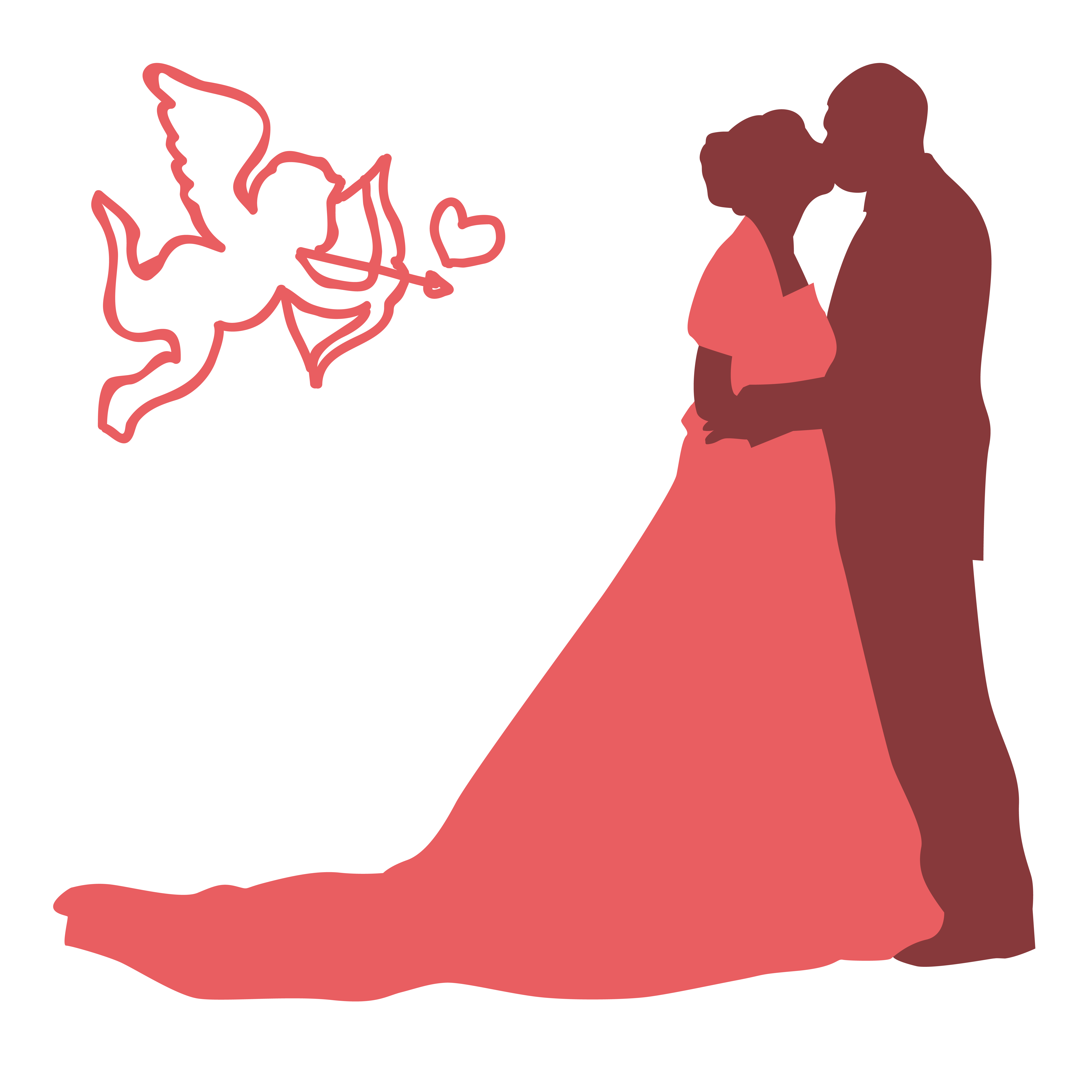 Silhouette clip art people. Clipart wedding person