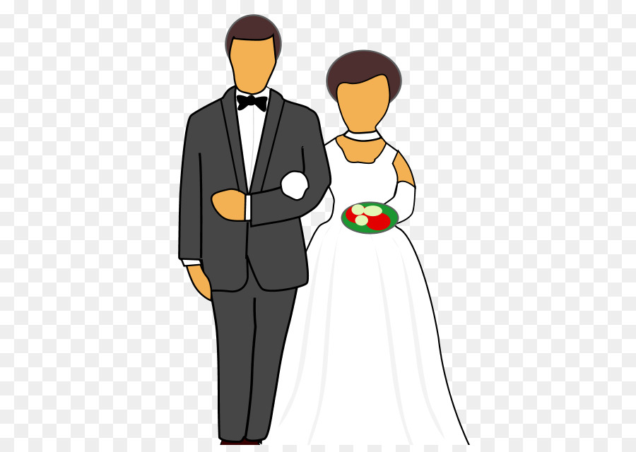 Clipart wedding person. Invitation background bride man