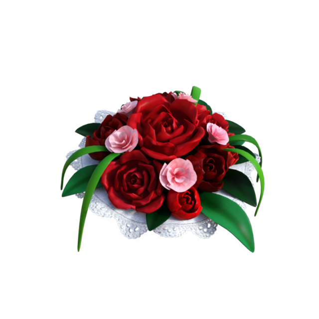 Wedding red rose flower. Thanks clipart bouquet