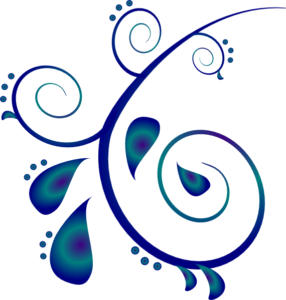Paisley clipart teal. Wedding scroll free download