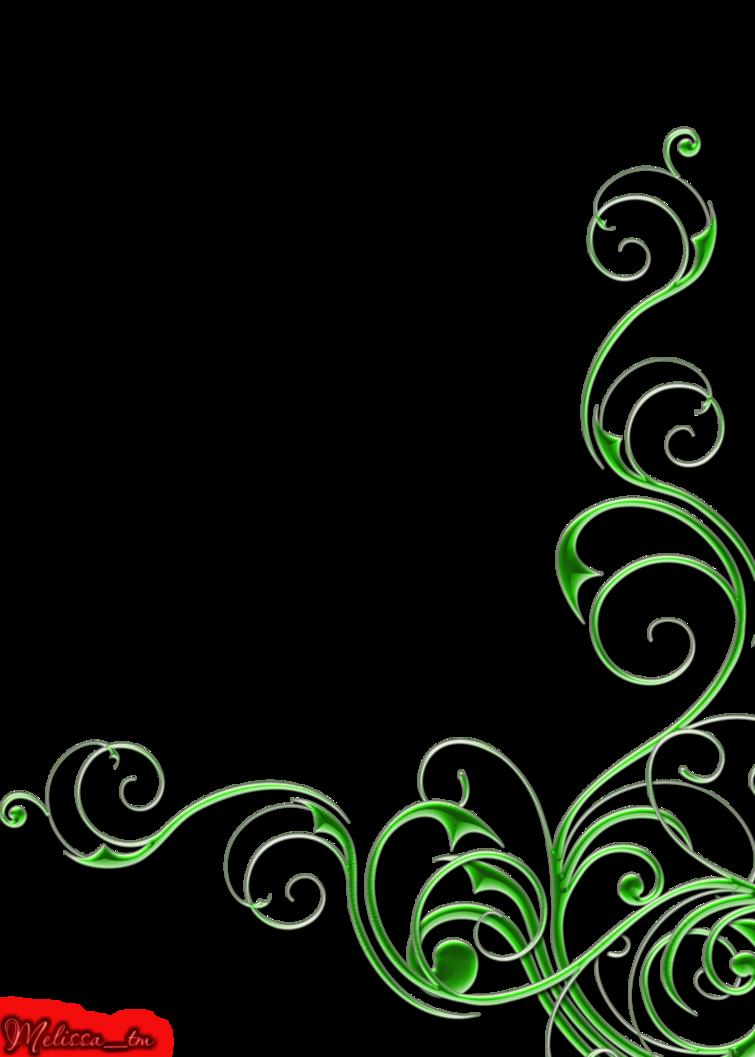 Vines clipart swirl. Green swirls png by