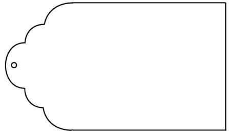 Free templates toreto co. Clipart wedding tag