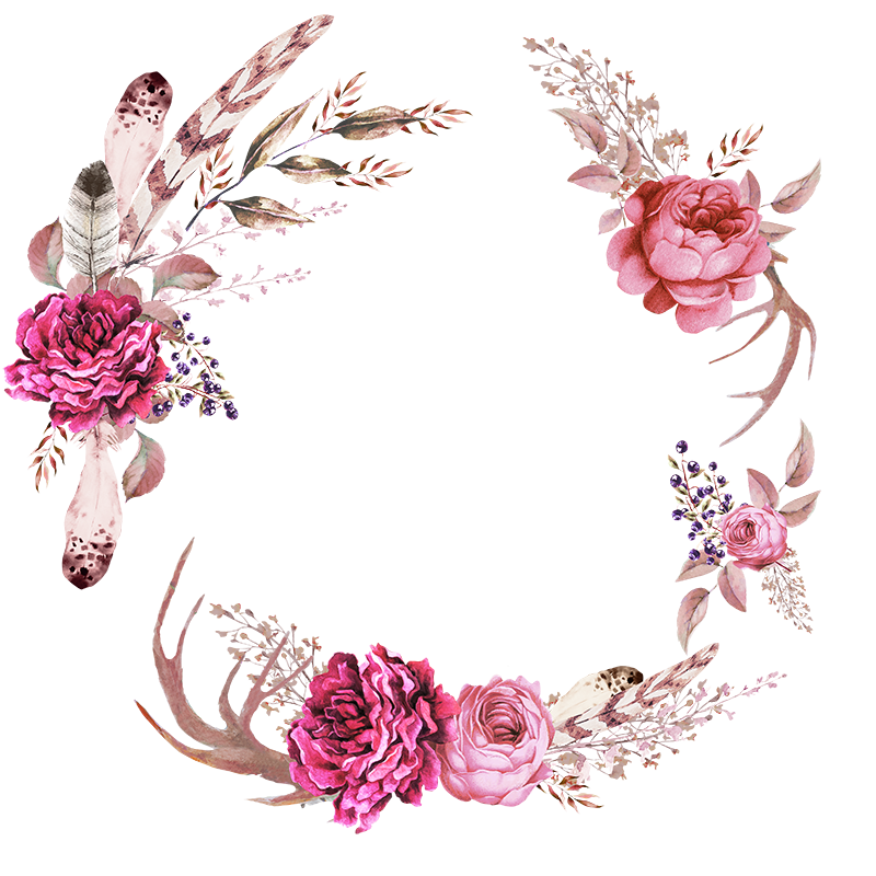 Poppy clipart poppy wreath. Frames floral em png