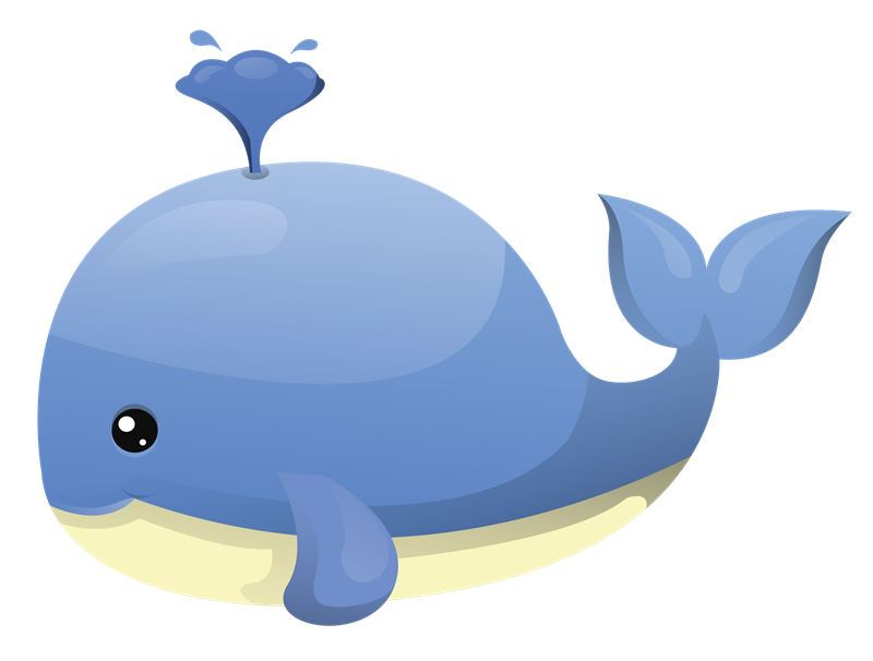 Clipart whale. Cartoon clipartfest pinterest clip