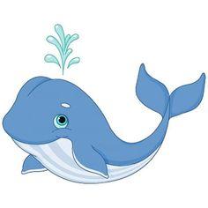 Little blue clip art. Clipart whale