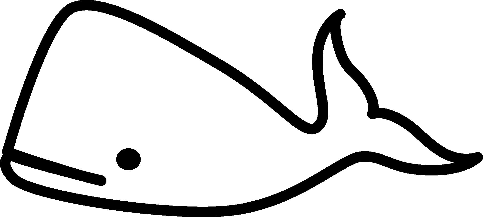 Whale clip art black. Orca clipart outline