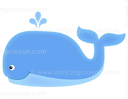 Clipart whale blue object. Clip art things that