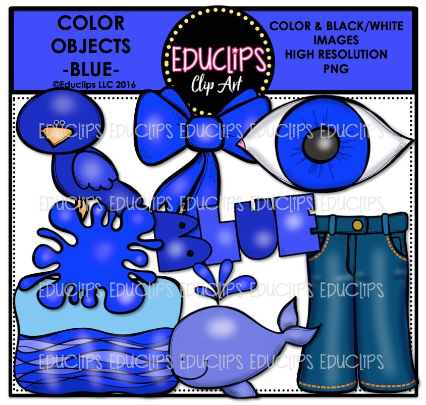 Clipart whale blue object. Color objects clip art
