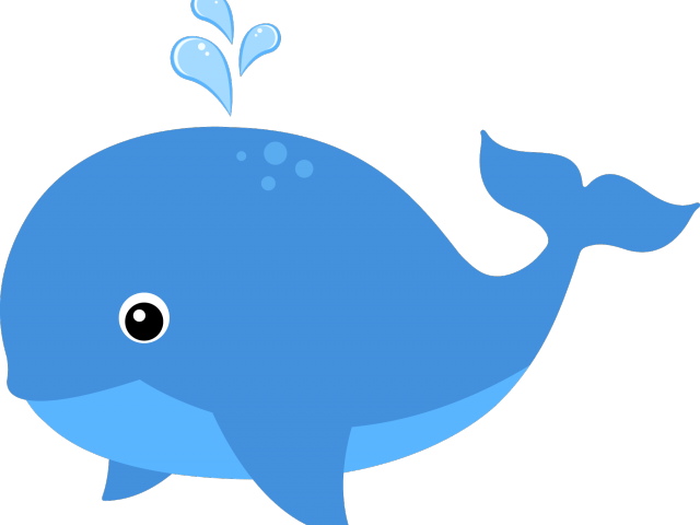 Clipart whale blue object. Free download clip art
