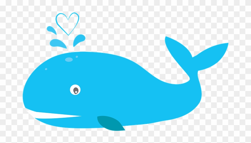 Clipart whale blue thing. Humpback buy clip art