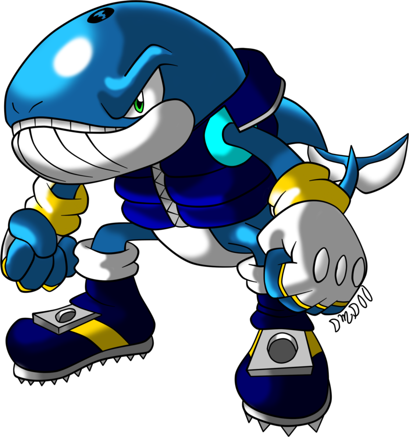 Mobian design by nextgrandcross. Clipart whale cartoon character