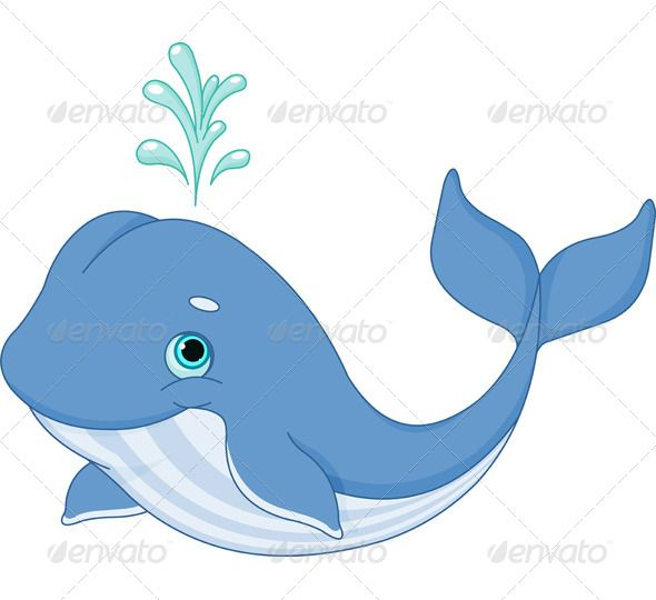 Clipart whale cartoon character. Animals characters