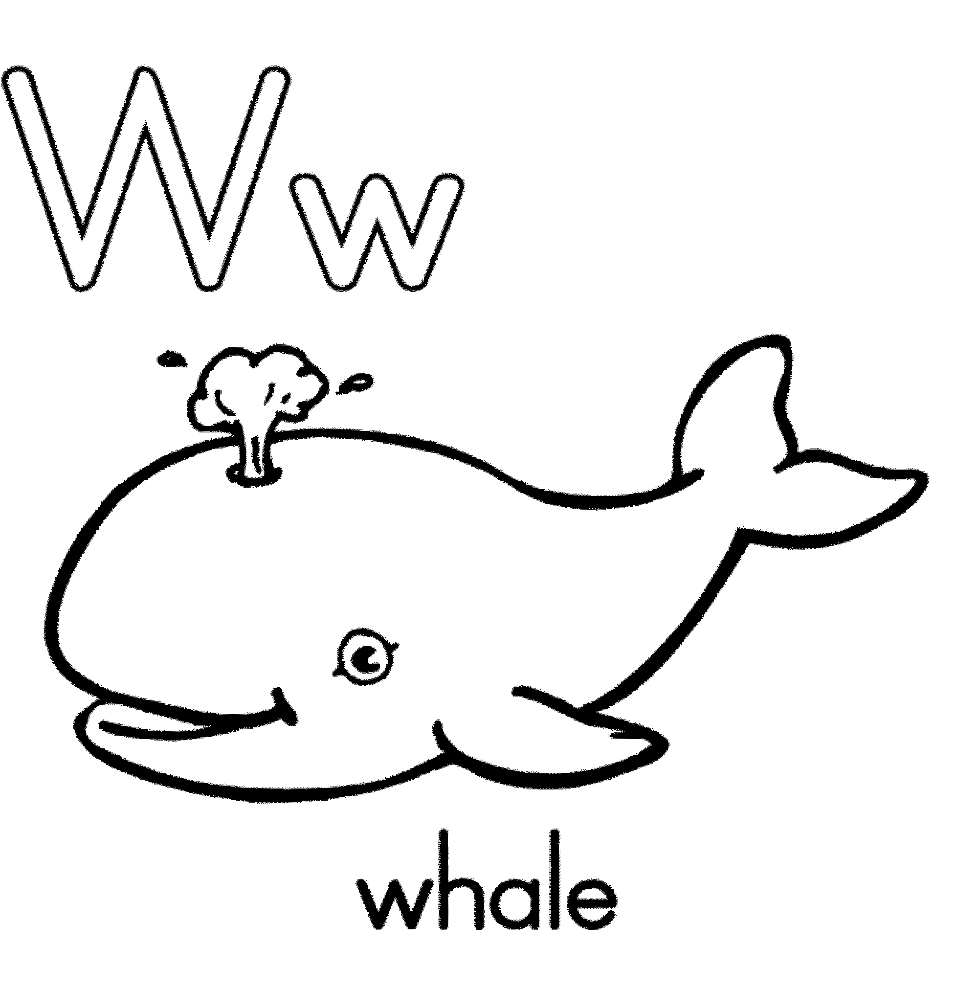 Orca printable coloring page. | Clipart Panda - Free Clipart Images | 2024x2000