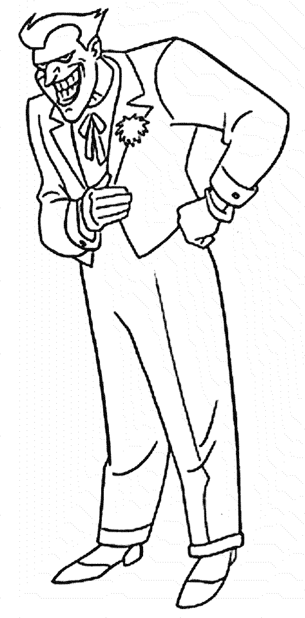 The joker coloring pages. Clipart whale colouring page