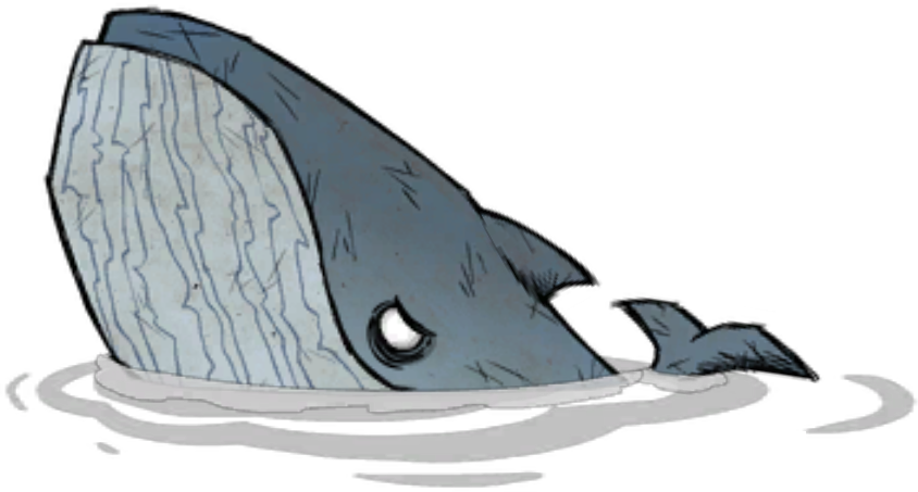 Image blue png don. Clipart whale destiny