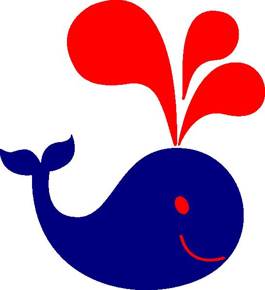Cute clip art at. Purple clipart whale