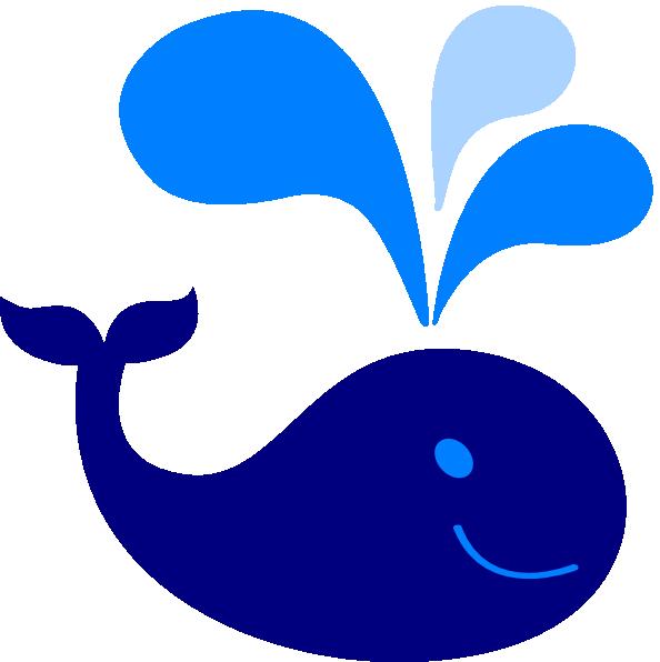 Baby blue svg clip. Clipart whale file