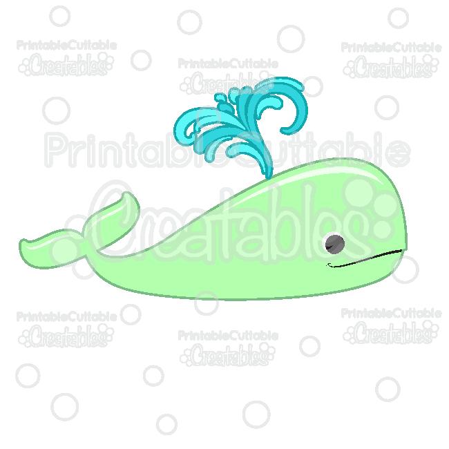 Clipart whale file. Cute free svg digital