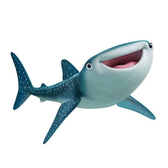 Clipart whale finding nemo. Shark character cookie cutter