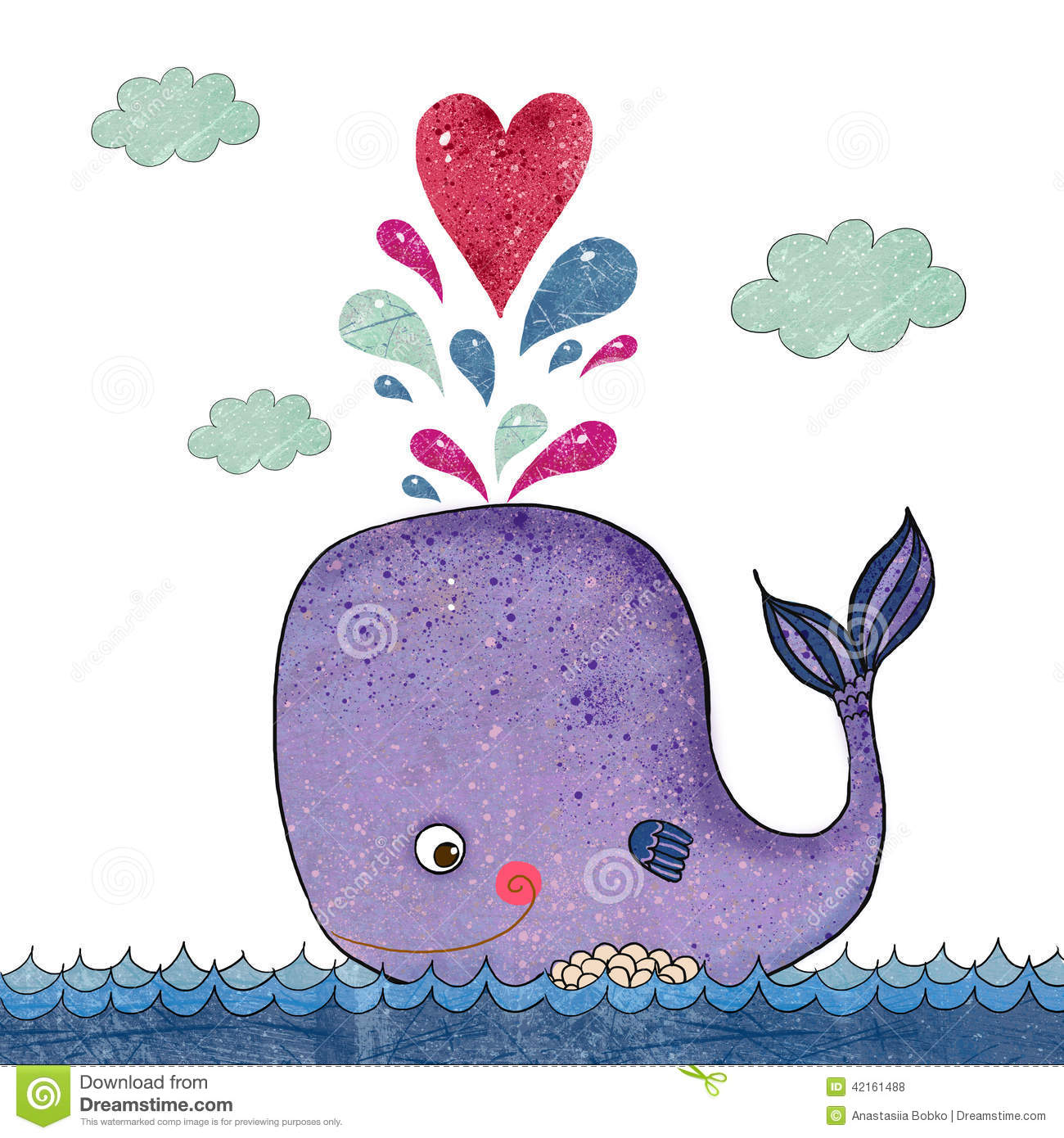 Clipart whale heart. Portal