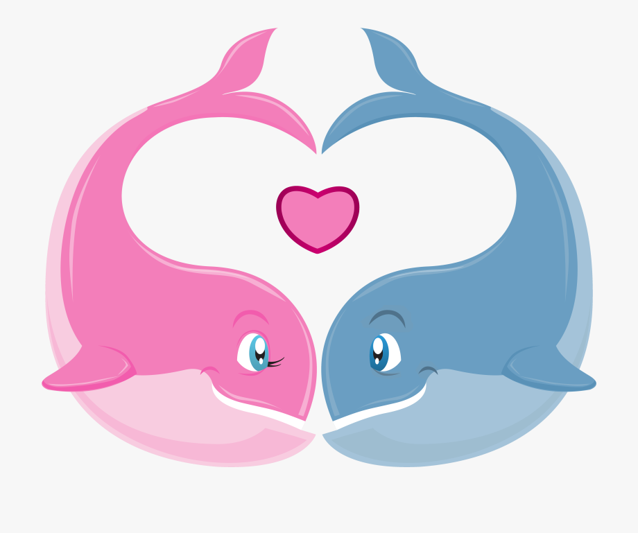 Clip art for valentines. Clipart whale heart