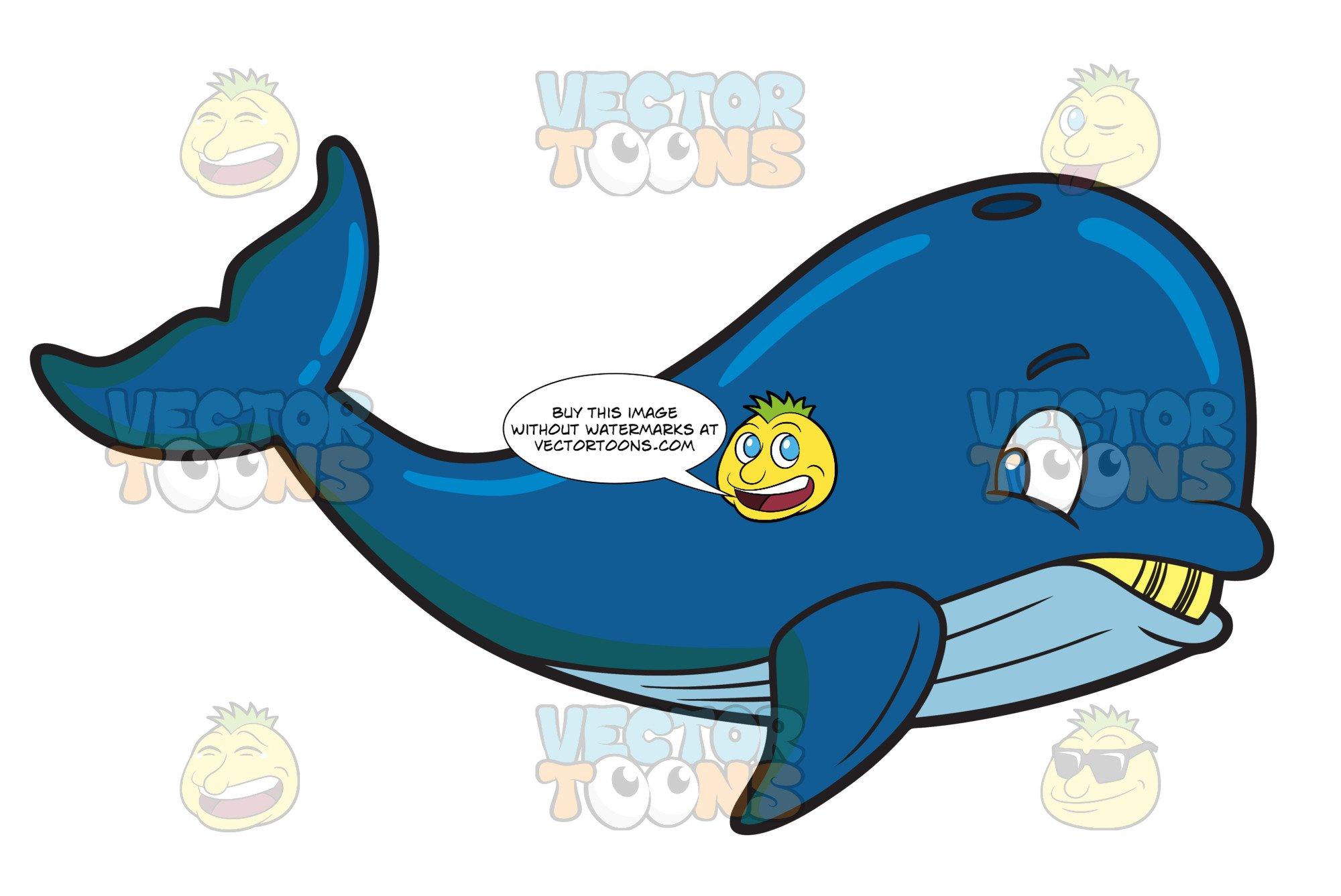 A big . Clipart whale humongous whale