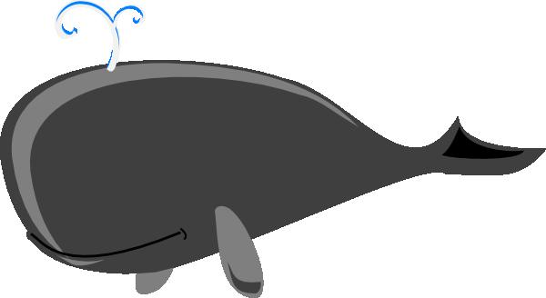 Clipart whale humongous whale. Grey big clip art