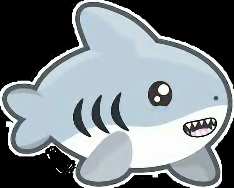 Petsandanimalscute requin shark. Clipart whale kawaii