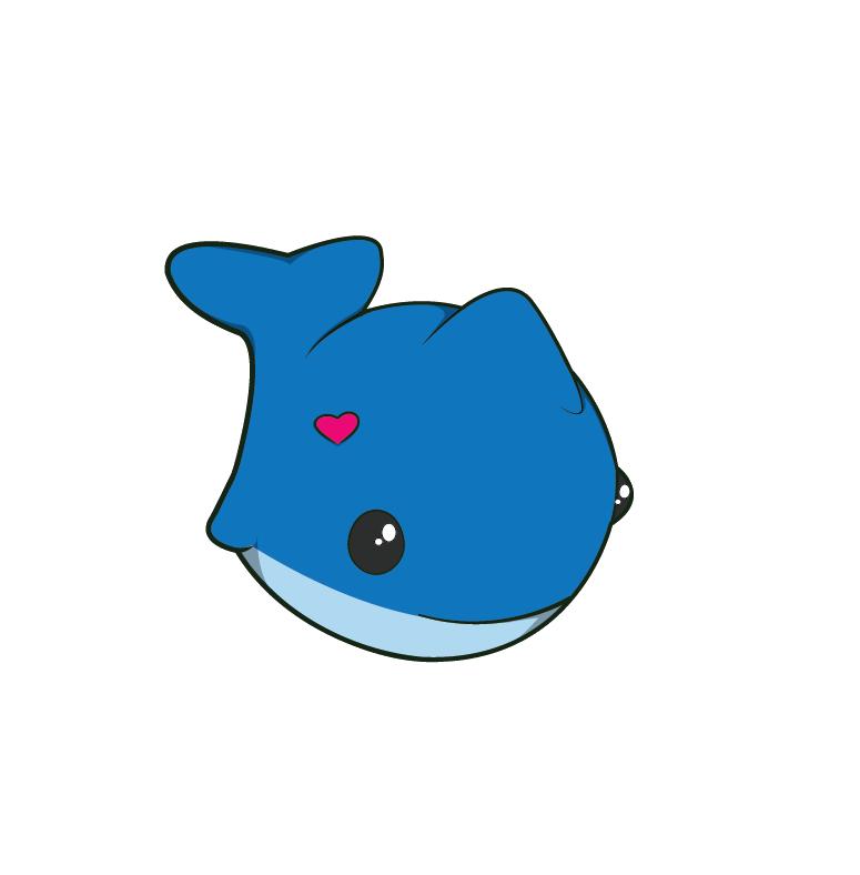 Clipart whale kawaii. Finished homework by apprenticeofart
