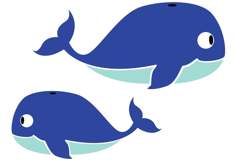 Free images for kids. Clipart whale kid