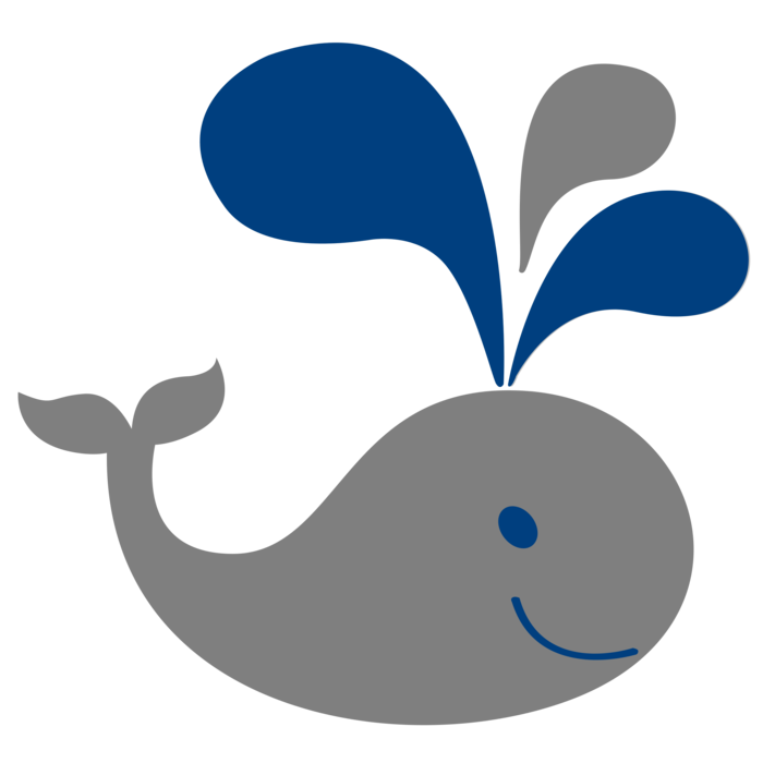 Clipart whale mom baby. Bclipart clip art grey