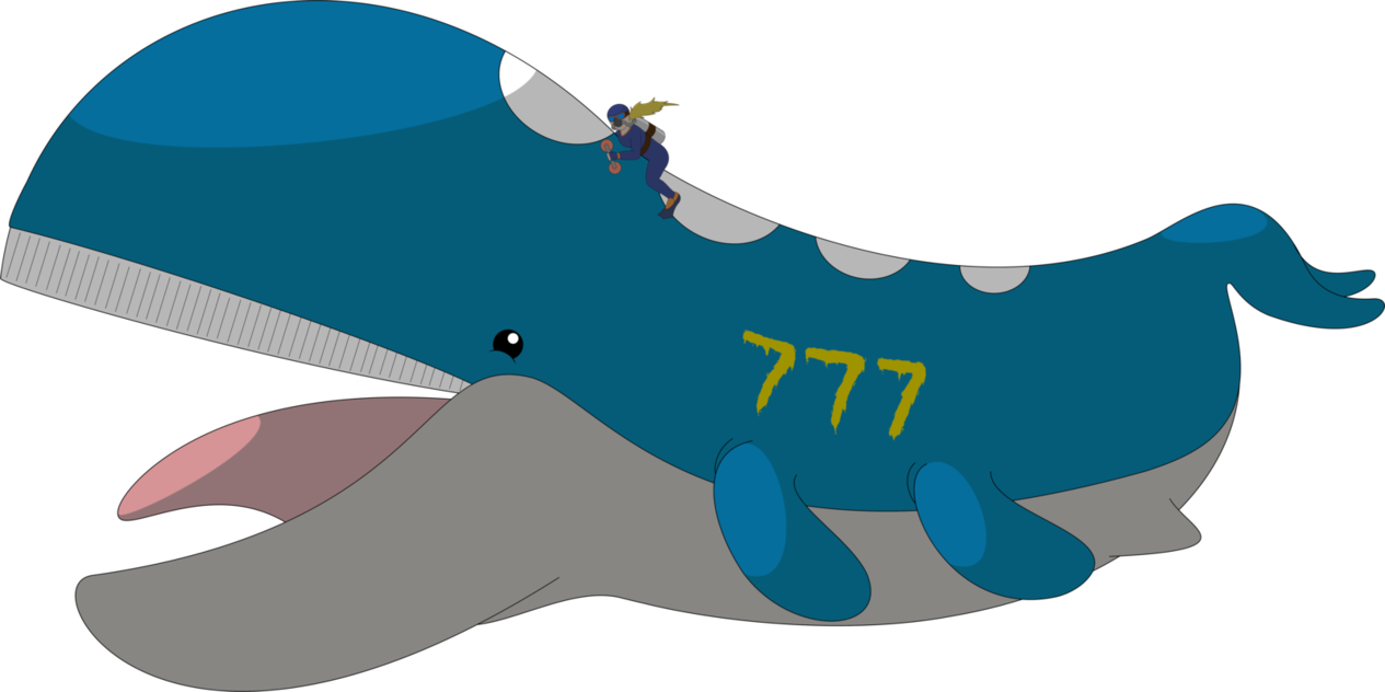 Clipart whale open mouth. Wailord racer by wakerra