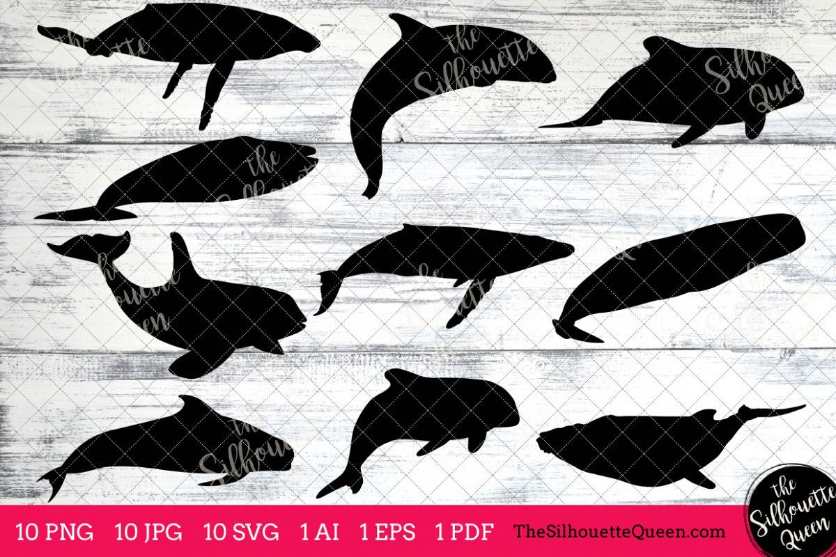 Clipart whale pdf. Silhouette clip art ai