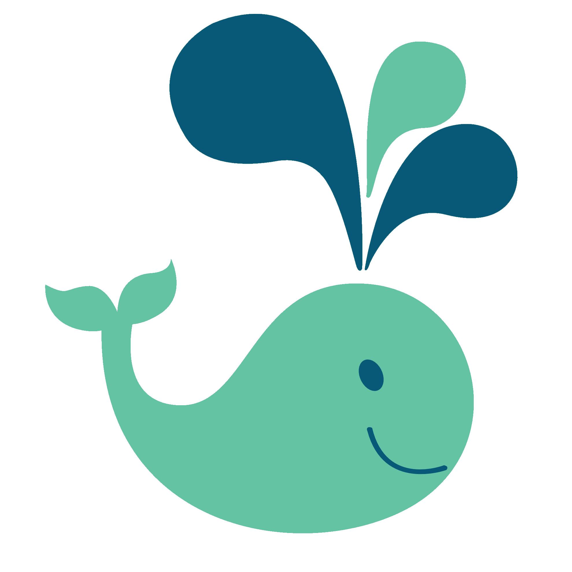 Clipart whale porpoise. Clip art kids panda