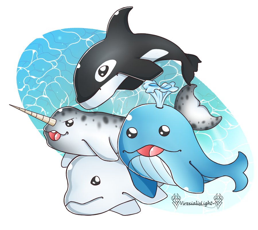 Clipart whale sailor. Friends at by virexialislight