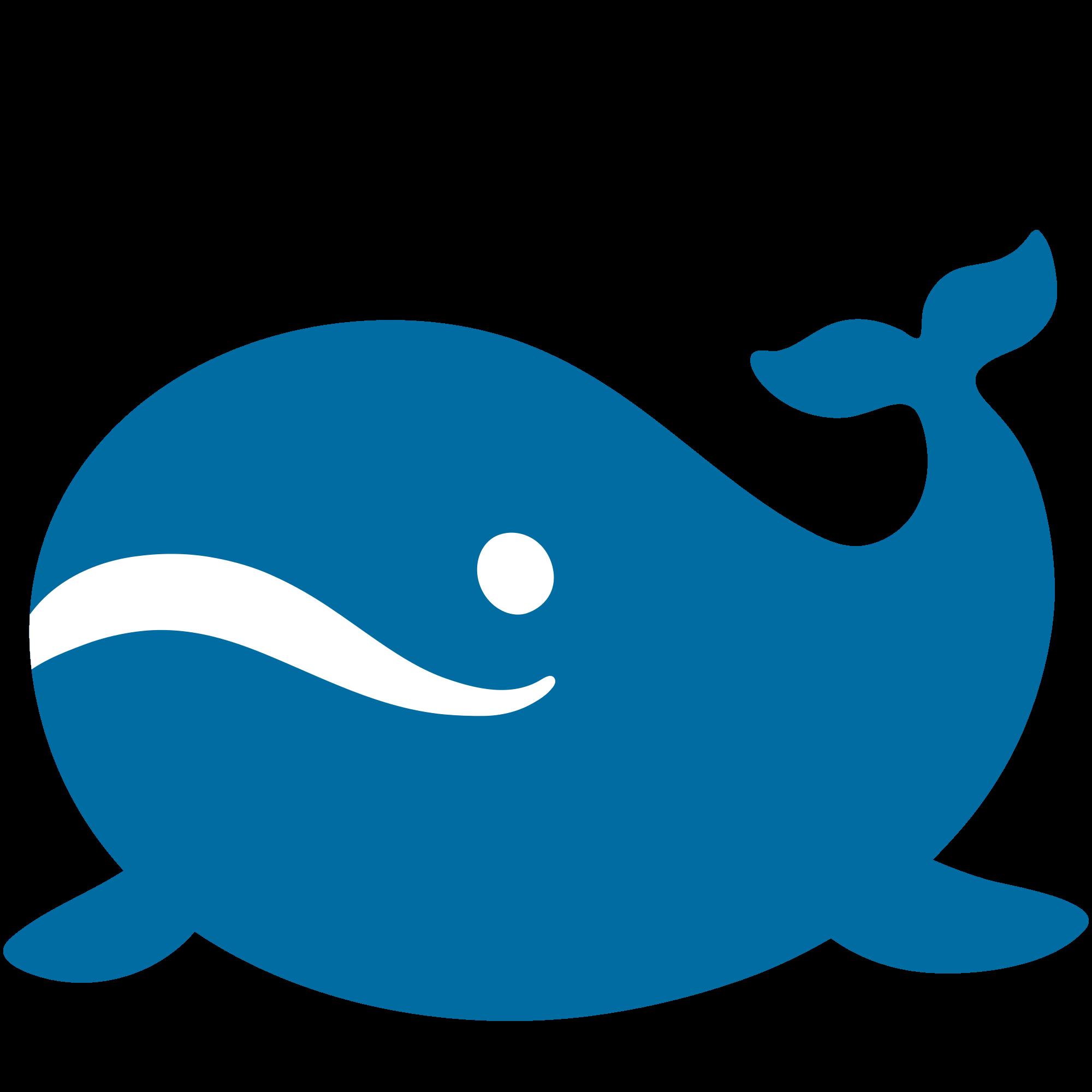 File emoji u f. Clipart whale svg